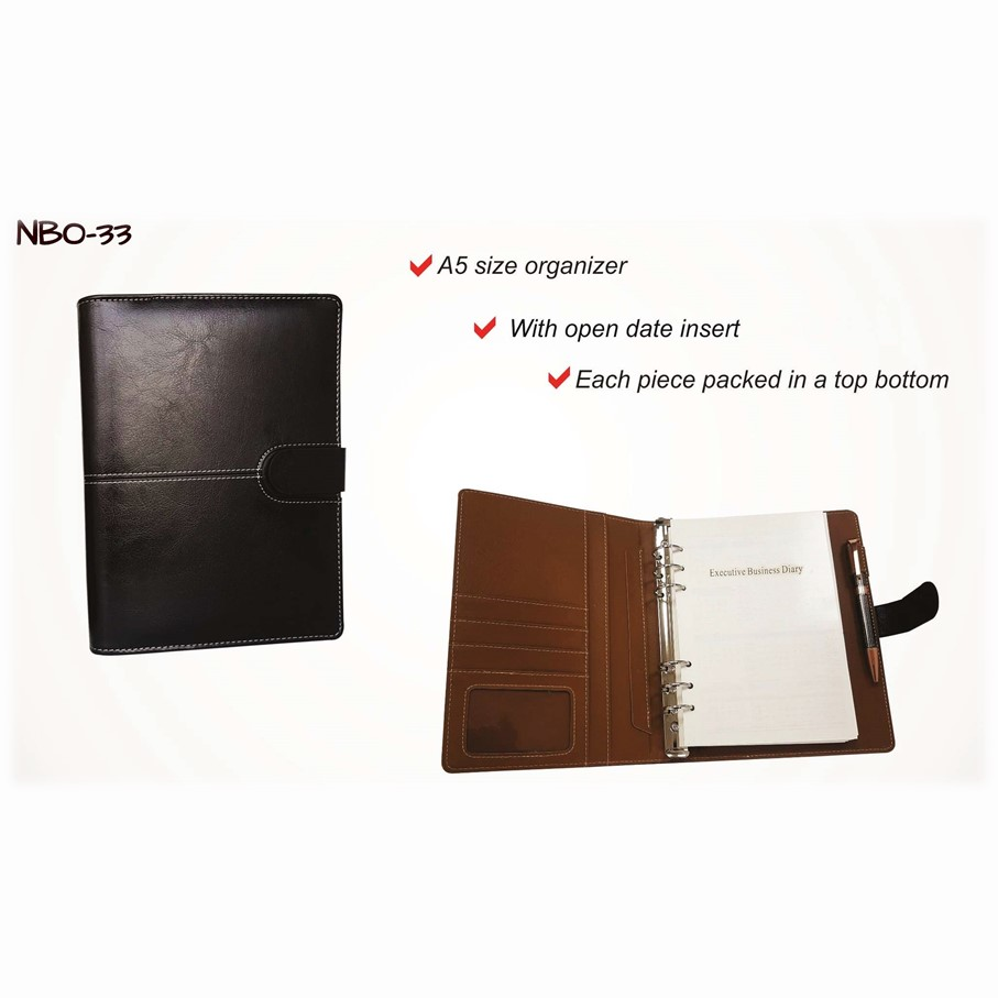 Diaries and notebook organizer 2